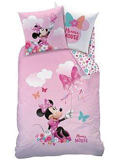 Ropa de cama infantil - Juego de cama reversible 'Minnie'