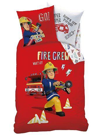 Juego de cama reversible 'Sam el bombero' - Kiabi