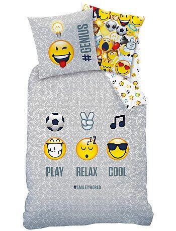Juego de cama reversible 'Smiley World' - Kiabi