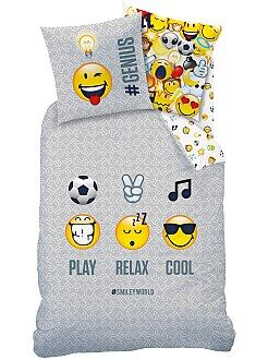 Juego de cama reversible 'Smiley World' - Kiabi