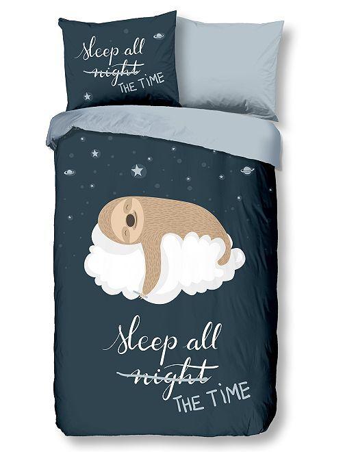 Juego de cama 'sleeping'                             azul marino