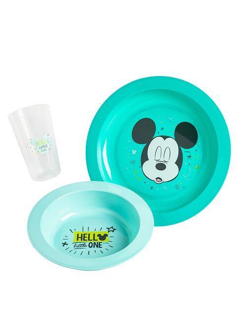 Juego de comida de 3 piezas 'Disney'                                                     AZUL