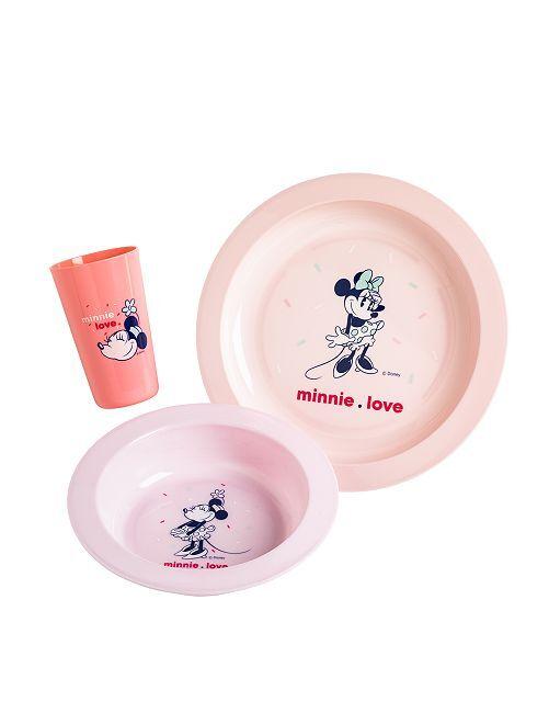 Juego de comida de 3 piezas 'Disney'                                                     minnie