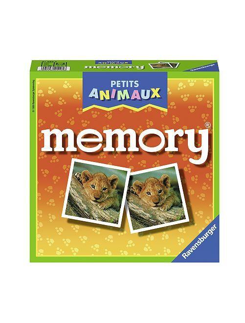Juego de memoria animales                             multicolor