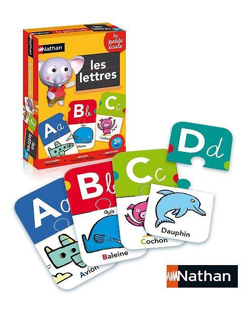 Juego 'La pequeña escuela: las letras' de 'Nathan'                             multicolor
