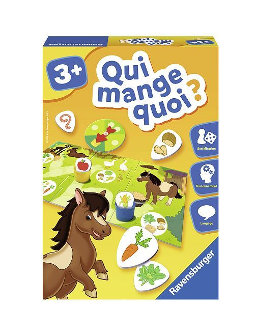 Juego '¿Quién come qué?' de 'Ravensburger'                             multicolor