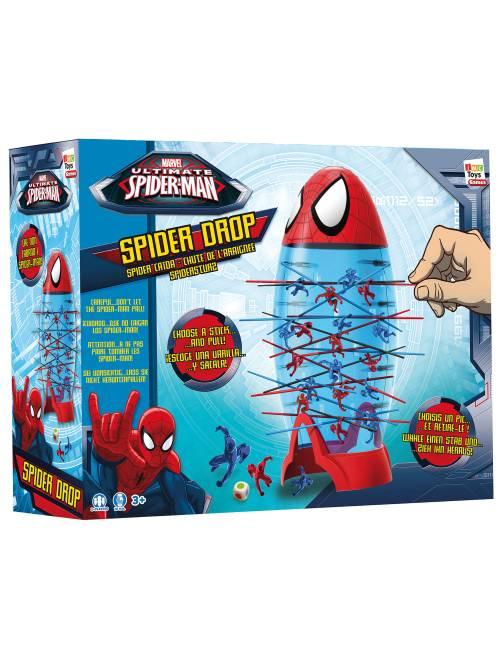 Juego 'Spider Drop'                             rojo