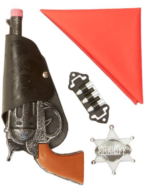 Kit de vaquero                             rojo