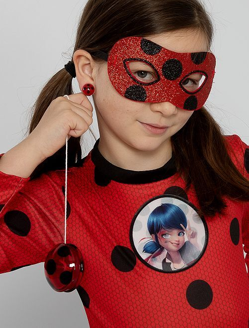 Kit 'Prodigiosa' 'Ladybug'                             rojo/negro