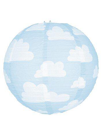 Lámpara de papel con nubes - Kiabi