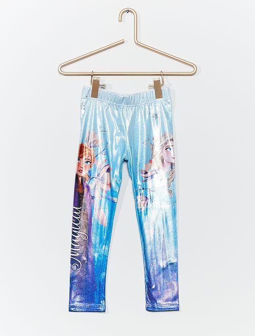Legging brillante 'Frozen 2'                                         azul