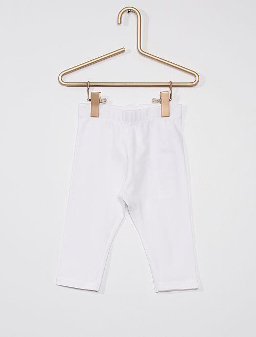 Legging corto                                                     blanco