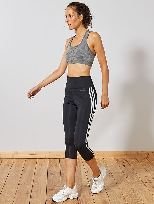 Legging corto deportivo 'Adidas'                             NEGRO