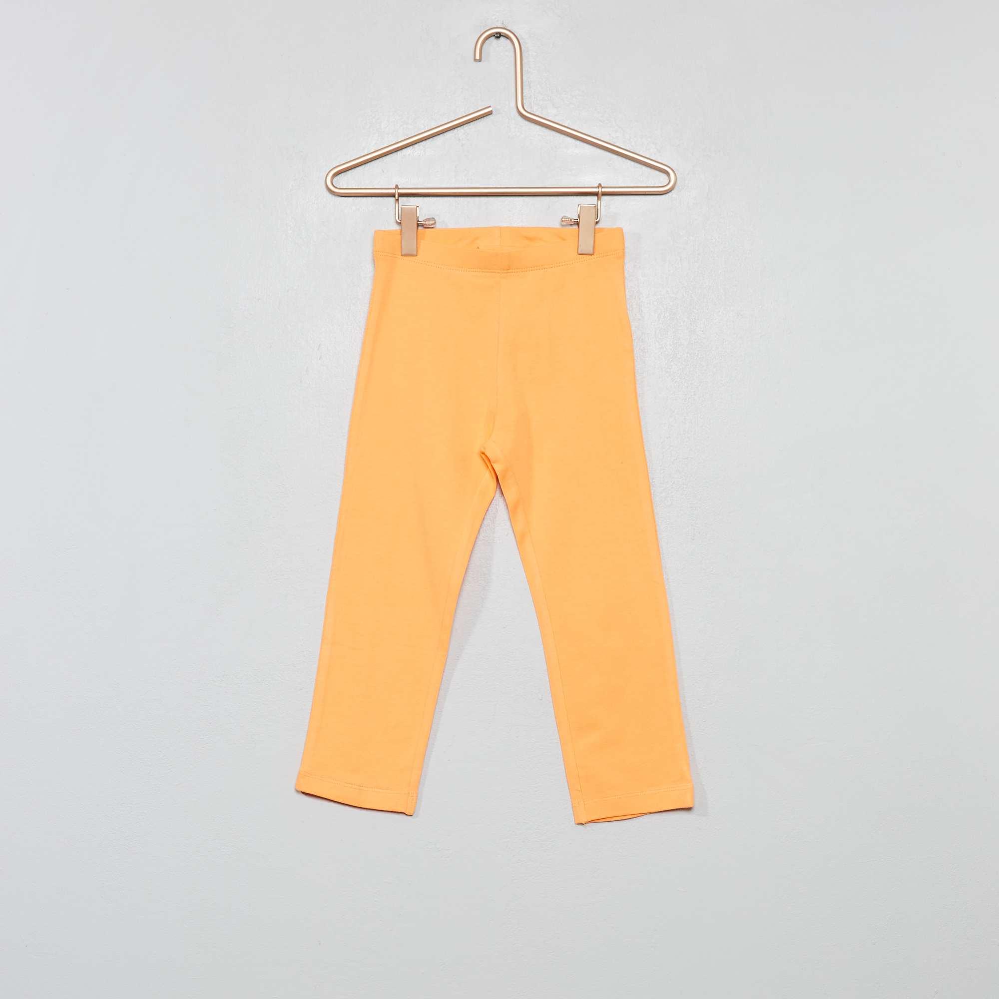f3a3244eb Legging corto elástico Chica - naranja pálido - Kiabi - 3,00€
