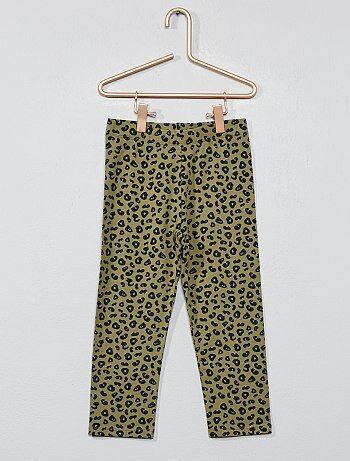 72d88f5b0 Legging corto  leopardo  - Kiabi