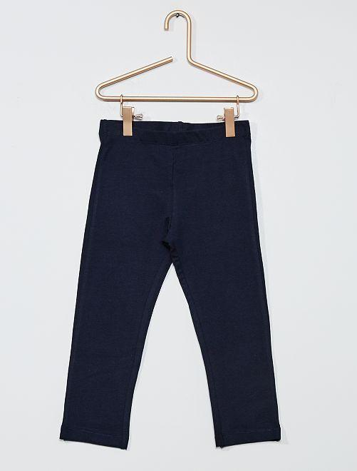 Legging corto liso                                                                                         azul