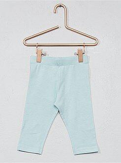 Pantalones, vaqueros, calzoncillos - Legging corto liso - Kiabi