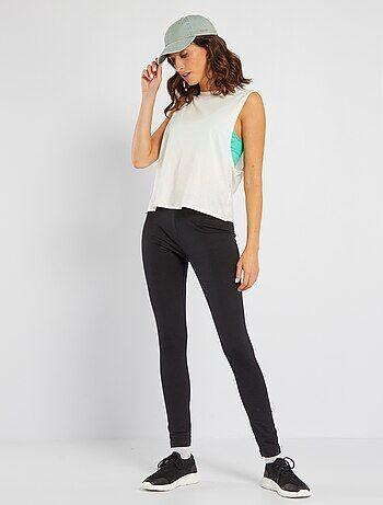 b1fad3eaa219 Leggings Mujer   negro   Kiabi