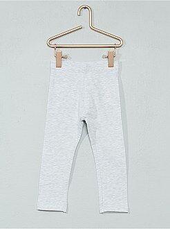 Pantalones, vaqueros, calzoncillos - Legging de punto elástico - Kiabi