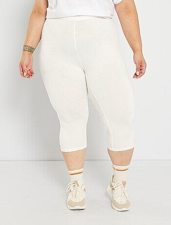 Pantalones Capri Y Piratas Mujer Blanco Kiabi