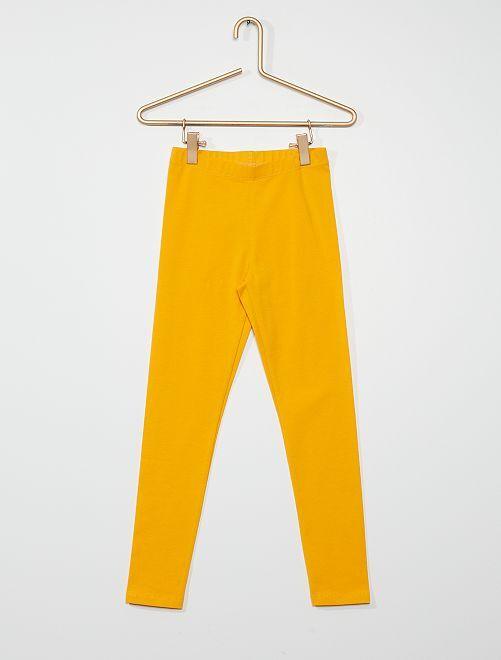 Legging eco-concepción                                                                                                                                                     amarillo