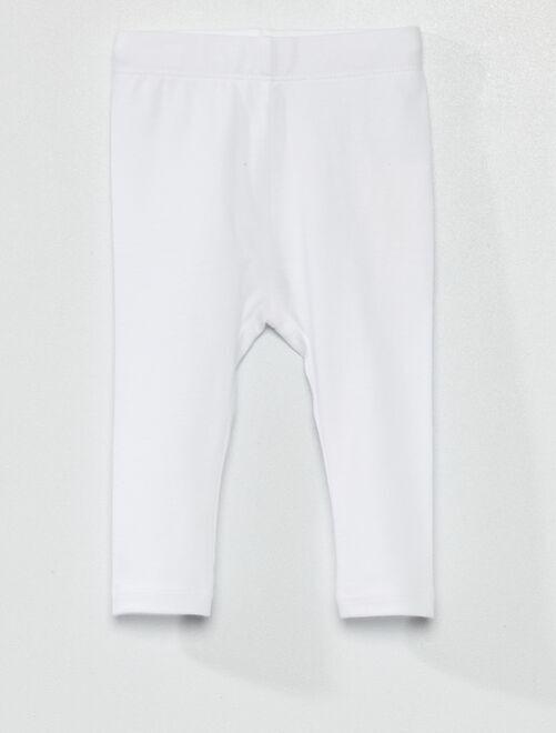 Legging eco-concepción                                                                                                     blanco