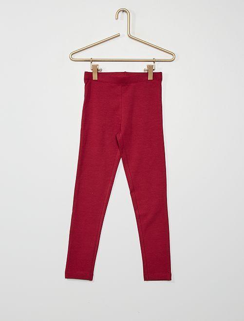 Legging eco-concepción                                                                                                                 rojo