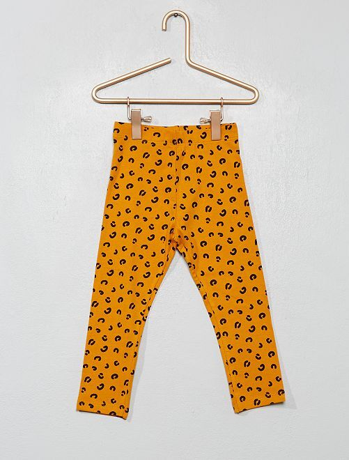Legging estampado                                                                 AMARILLO