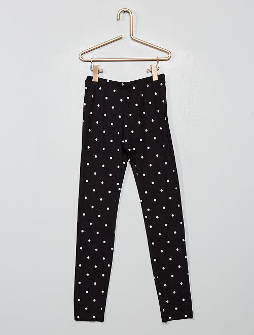 Legging estampado                     NEGRO