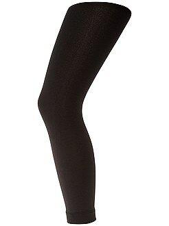 Leotardos, calcetines - Legging interior polar