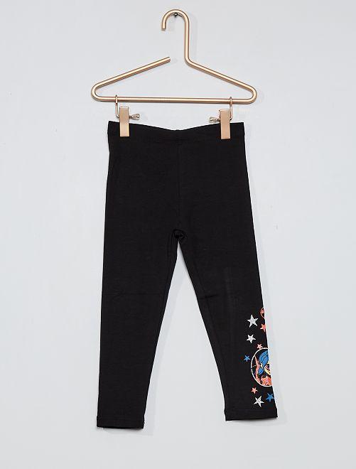 Legging largo 'Miraculous'                                         negro
