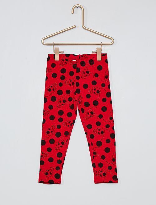 Legging largo 'Miraculous'                                         rojo