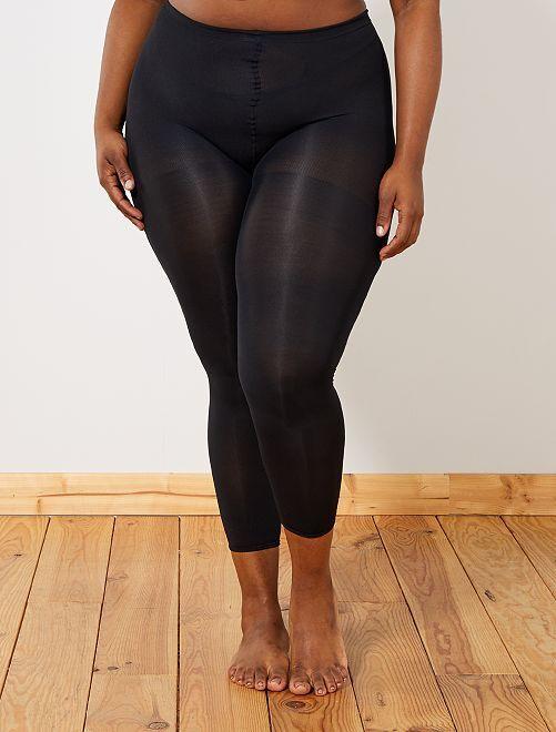 Legging opaco 80D tallas grandes                             negro