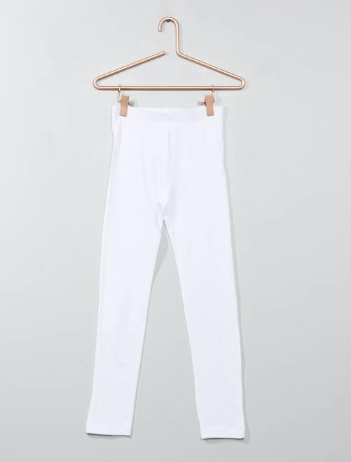 Legging stretch 'NKY'                                                                             blanco