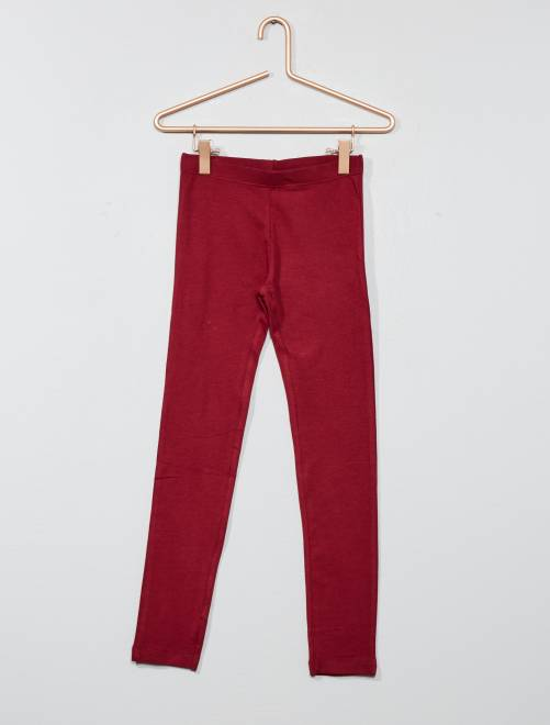 Legging stretch 'NKY'                                                                                                                                                                                                     bordeaux Chica