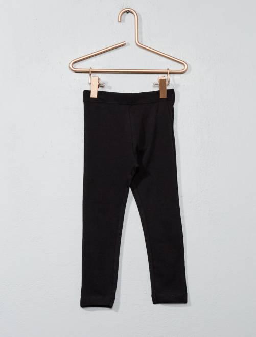 Legging stretch 'NKY'                                 negro