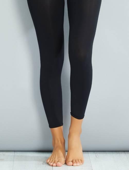 Legging tupido 120D                             negro