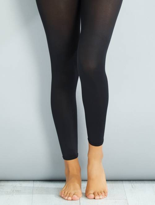 Leggings 80 deniers                             negro