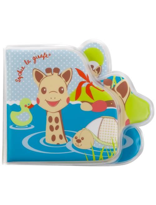Libro para el baño 'Sophie la Girafe'                             azul Bebé niño