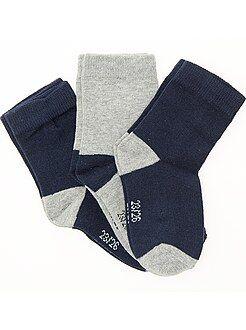 Lote de 3 pares de calcetines