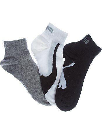 Hombre talla S-XXL - Lote de 3 pares de calcetines bajos 'Puma' - Kiabi