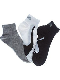 Hombre - Lote de 3 pares de calcetines bajos 'Puma' - Kiabi