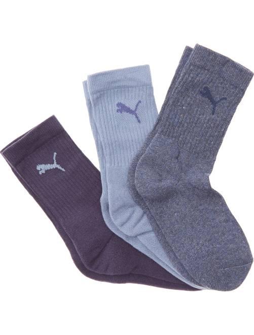 Lote de 3 pares de calcetines de deporte 'Puma'                                                                 AZUL