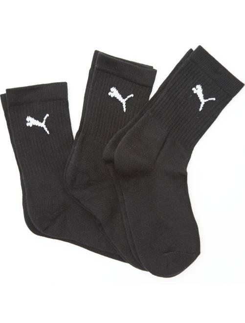 Lote de 3 pares de calcetines de deporte 'Puma'                                                                 negro