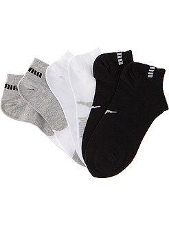 Niña 3-12 años Lote de 3 pares de calcetines 'Puma' de caña corta