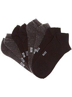 Calcetines - Lote de 4 pares de calcetines invisibles - Kiabi
