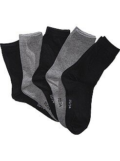 Lote de 5 calcetines