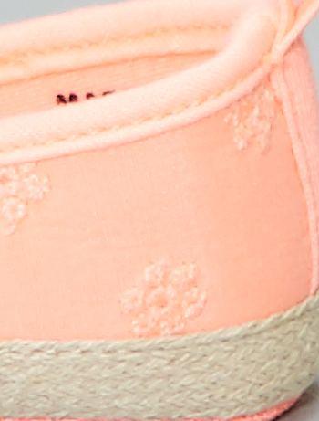 d63be84e9a1d5 Manoletinas con bordado inglés Bebé niña - ROSA - Kiabi - 5