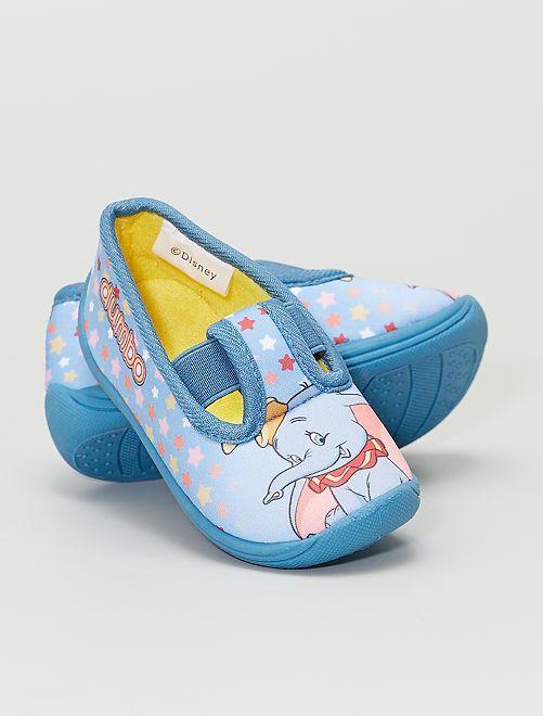 Manoletinas de casa 'Dumbo' 'Disney'                             azul