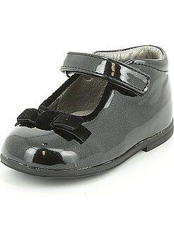 Zapatos niña - Manoletinas de piel sintética